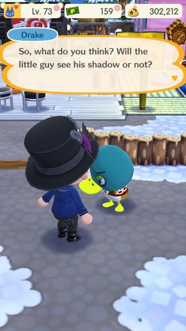 Animal Crossing Groundhog Day