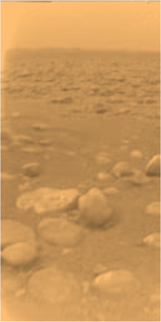 Titan-Huygens View