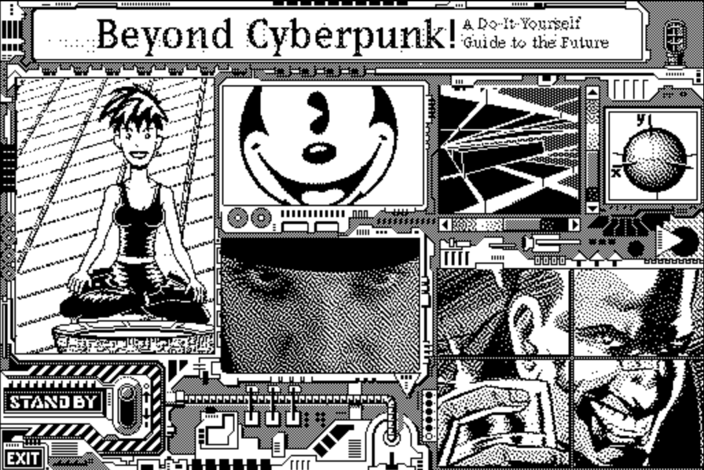 Beyond Cyberpunk Web Design