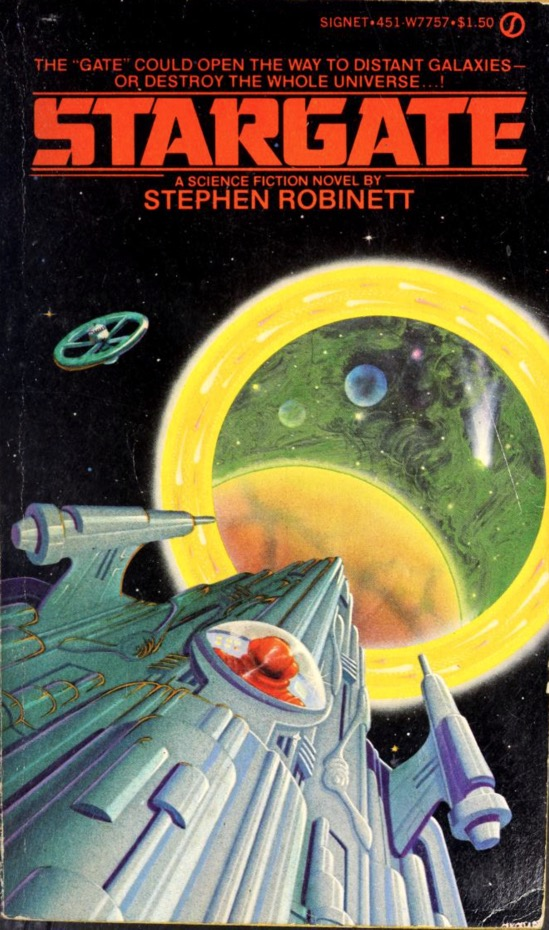 What I'm Reading: Stargate (1976), by Stephen Robinett