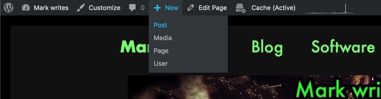 wordpress-new-post